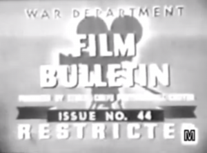 War Department Film Bulletin