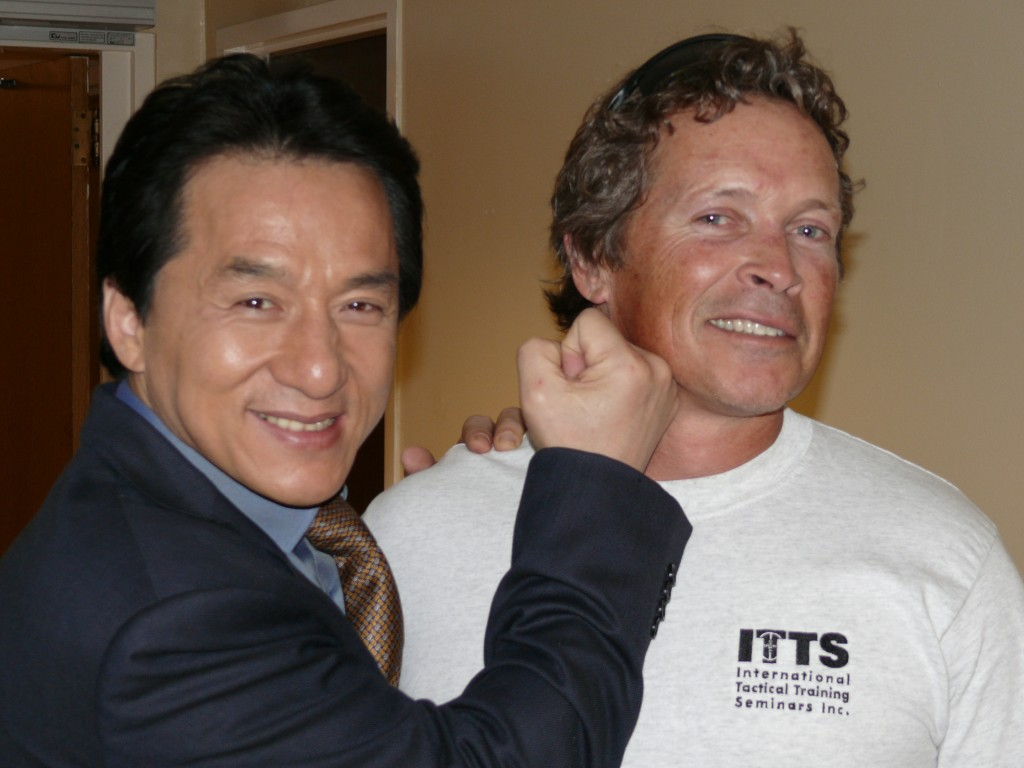 Who needs firearms when you've got moves like Jackie Chan!