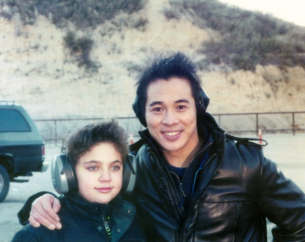 Who wins in a fight... Jet Li or Jackie Chan?  We never got to find out but they were both great guys!  Don't make the mistake of mis-judging him by his height.