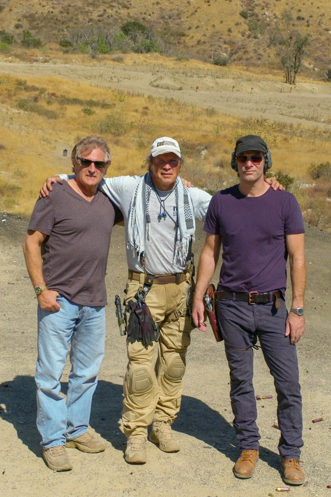 "John Herzfeld brought Thomas Jane out to train for his movie ""Reach Me,"" which also starred our very own head instructor Scott Reitz! (Well maybe not starred but Scotty had a speaking line :)"