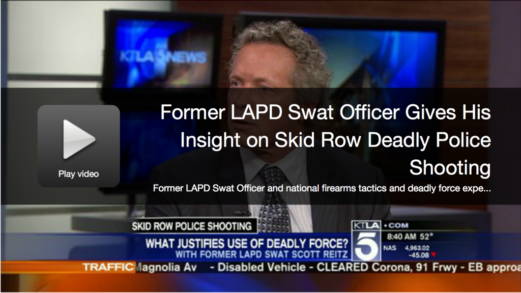 Scott Reitz on KTLA Channel 5 News