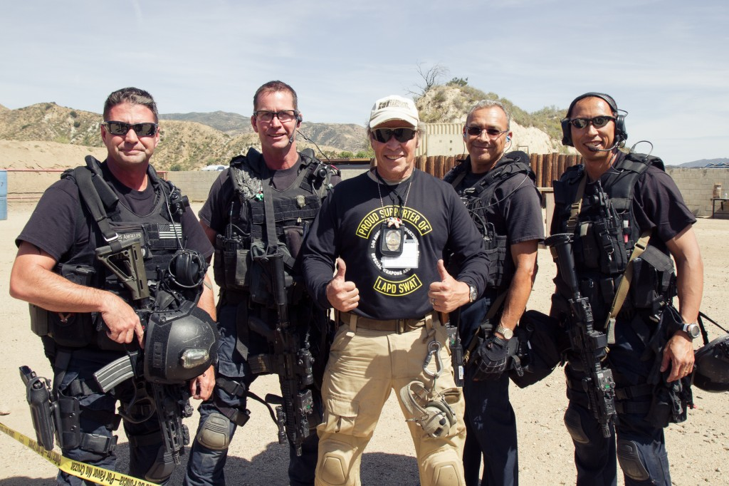 ITTS Friends and Family Charity Shoot for LAPD SWAT 2015