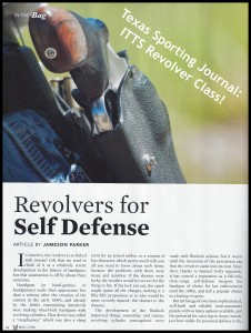 ITTS Revolver Class Article - Title Page
