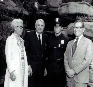 Scott Reitz LAPD Academy Graduation - Class of 1976